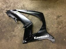 Kawasaki zx10r zx10 2014 13 12 11 oem left side fairing panel plastic