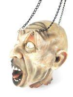 Zombie Schädel Totenkopf Skull Relief Poly 17 cm zum Aufhängen