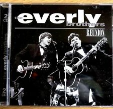 2CD NEW - THE EVERLY BROTHERS  REUNION Country Rock & Roll Pop Music 2x CD Album