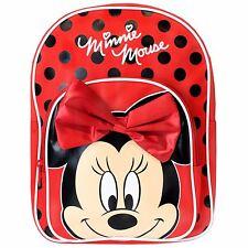 Minnie MOUSE Mochila Bolso   Niñas Minnie   Disney Minnie Mouse Escolar Bolsa   Nuevo