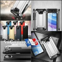 Etui coque housse Antichoc Shockproof Hybride Armor Case Cover Xiaomi Poco X3
