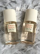 3x Jovan White Musk For Women Cologne Spray 1.5 oz Each New Without Box.