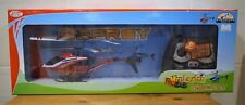 OSPREY RADIO CONTROLLED  FLYING HELICOPTER By TOY KING WITH BUILT IN GYROSCOPE