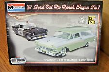 MONOGRAM '57 FORD DEL RIO RANCH WAGON  2'n 1 MODEL KIT 1/25 SCALE