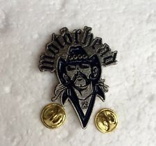 Lemmy Motorhead Metal Pin Badge, Rock Heavy Metal Biker, Hells Angels Support 81