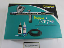 Iwata HP-CS w/Air Hose Eclipse ECL-4501 Gravity Feed Dual Action Airbrush Kit