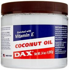 DAX COCONUT OIL ENRICHED WITH VITAMIN E FOR HAIR AND BODY 397GM