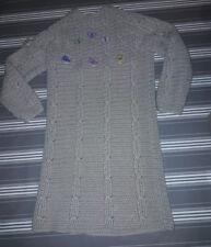 robe tricot fait main  10 ans