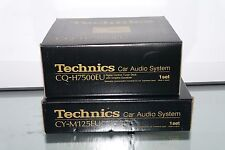 Technics Vintage Car Radio & Matching Power Amp Digital Tuner Brand New