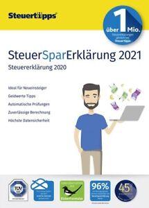 SteuerSparErklärung 2021 (für Steuerjahr 2020), Download, Windows
