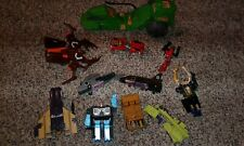 Transformers g1 parts lot go bots voltron he man lot of 11 repair takara bandai