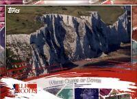 2020 Topps UK Edition WHITE CLIFFS OF DOVER UK Icons Insert #UK1-5