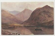Old Salmon Series Postcard, 2633, Crummock Water and Whiteless Pike