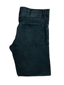 Original Hugo Boss Maine Regular Fit Black Stretch Denim Jeans W34 L28 ES 8262