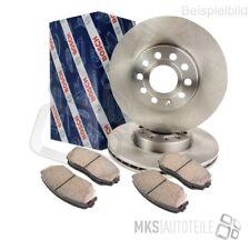 Bosch discos de freno + pastillas de freno delantero ø300 para mercedes-benz c-class 3887695