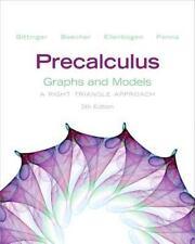 Precalculus : Graphs and Models by Marvin L. Bittinger, Judith A. Beecher, Davi…