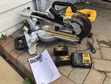 Dewalt DCS365 18v lithium-ion chop saw. Miter saw. 184mm blade, 50mm cut depth