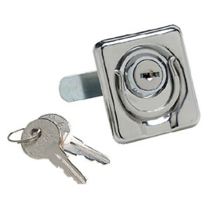 Stainless Steel Locking Lifting Ring Latch for Boats, RVs and More