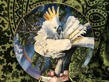 """The Exotic Birds of Tropique """"Greater Sulphur Crested Cockatoo """" Plate 1981"""