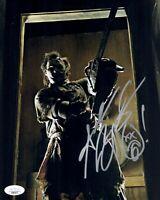 ANDREW BRYNIARSKI Signed 8x10 TEXAS CHAINSAW MASSACRE Photo Autograph JSA COA