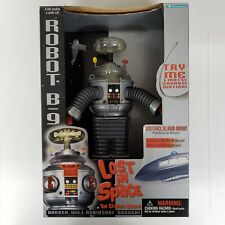 """Lost In Space B-9 Robot 7"""" Large Action Figure 1997 Trendmasters New Open Box"""