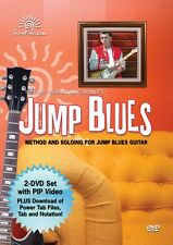 Jump Blues Method and Solos for Jump Blues Guitar 2-DVD Set Instructio 000320851