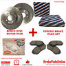 Front Rotors and Brake Pads Set for TOYOTA CAMRY ACV36/ MCV36 8/2002-8/2006