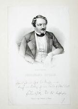 1838 Stolle Ferdinand Lithographie-Porträt Kunath