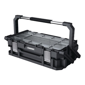 22 in. Connect Rolling System Tool Box 22-Compartment Cantilever Organizer New