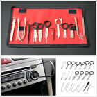 20 Pcs Set Pro Stainless Steel Car Radio Stereo CD Player Removal Key Tool