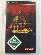 SONY PSP JEU Science Hellboy of Mal, utilisé mais BIEN
