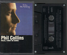 Phil Collins Hello I Must Be Going (You Can´t Hurry Love) MC Kassette Tape, 040