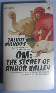 Talbot Mundy: three paperbacks: Om, Black Light, Caesar Dies