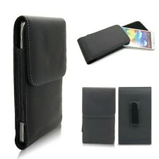 Leather Vertical Belt Clip Holster Case Cover For Samsung Galaxy Note3 III N9000