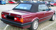 BMW E30 3 Series 318 325 & M3 Convertible Top Kit Straps & Cables Stayfast Cloth