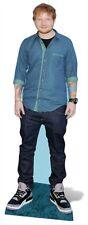 Ed Sheeran TAMAÑO NATURAL Figura DE CARTÓN / / pie estrella pop músico