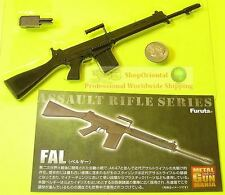 FURUTA 1:6 GUN MANIA FAL ASSAULT MACHINE RIFLE MODEL #3 Furuta_M3