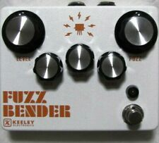 Used Keeley Fuzz Bender Guitar Effects Pedal!