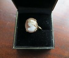Antique Victorian Cameo Gold Ring