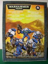Warhammer 40k SPACE MARINE STERNGUARD veterano escuadrón de metal en caja Rare fuera de imprenta