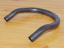 "1"" Cafe Racer Upswept Kick Up Seat Hoop Loop For HONDA XS 750 850 1100 230mm"