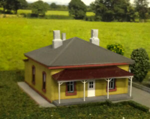 NSWGR Bungendore Station Masters House Kit HO scale 1:87