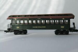 N Scale Passenger Vintage cars set of 3 for White Pass and Yukon Railway