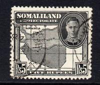 Somaliland 5 Rupee c1942 Used  (1647)
