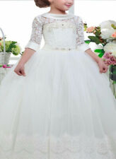2019 Flower Girl Dresses Kids Birthday Weddings Holy Communion Gowns