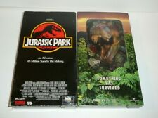 Vhs Tapes - Jurassic Park and The Lost World Movies Lot T-Rex Hologram