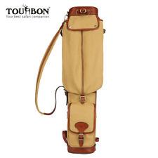 Tourbon Vintage Golfbag Standbag Golfschläger Golftaschen Travelcover Golf Trage
