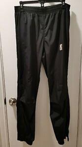 Pearl Izumi Clima Guard Men's Cycle Pants Black MEDIUM Joggers TRANS GLOBE