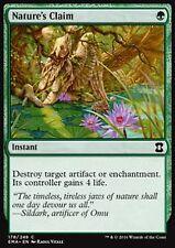 *MRM* ENGLISH 4x Revendication par la nature (Nature's Claim) MTG Eternal Master