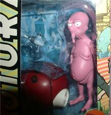 Futurama Nudar  Space Alien from Toynami  from build a Sata Robot